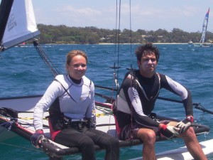 Defending 2008 Hobie 16 Champions, Sturgeon / Booth