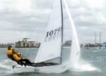 Hobie 16 racing at 2007 Fiji World Championships