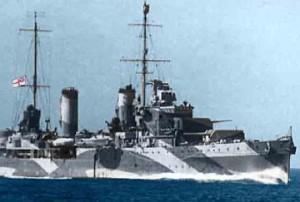 HMAS Perth Australian Navy ship