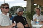 US 470 sailors Roberts, Martin and Biehl