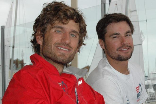 470 sailor Stuart McNay and coach Nigel Cochran